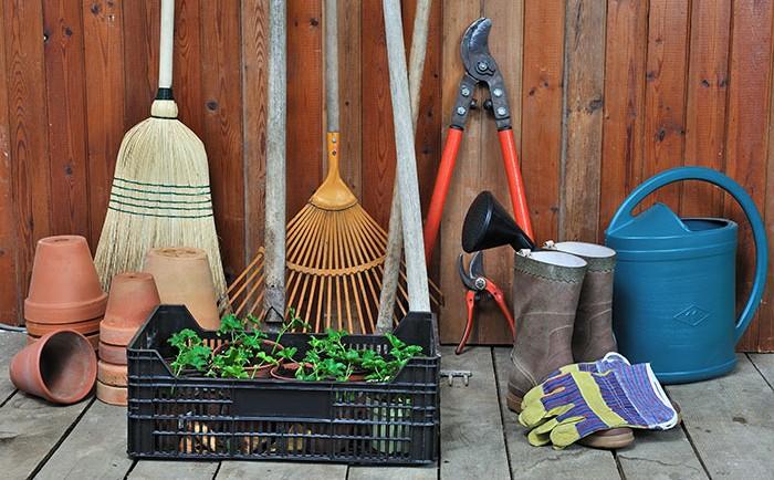 Les différents équipements et outillages pour jardin