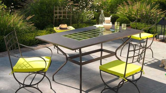 Conseils et astuces pour avoir un magnifique jardin choisir les mobiliers de jardin selon les Meuble jardin metal