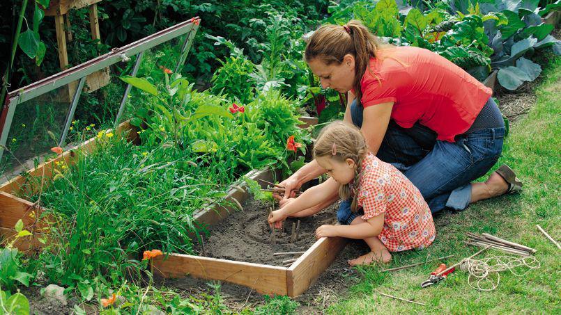 conseils et astuces pour avoir un magnifique jardin les activit s faires avec les enfants. Black Bedroom Furniture Sets. Home Design Ideas