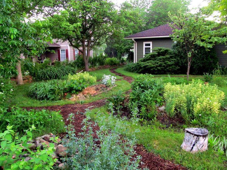 Les techniques de permaculture dans un jardin